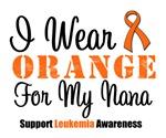 I Wear Orange For My Nana Grunge Shirts