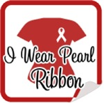 I Wear Pearl Ribbon & Support Shirts & Gifts