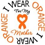 I Wear Orange Mother Leukemia Shirts