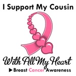 Breast Cancer I Support My Cousin T-Shirts & Gifts