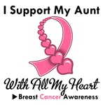 Breast Cancer I Support My Aunt T-Shirts & Gifts