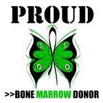 Proud Bone Marrow Donor Butterfly Shirts & Gifts