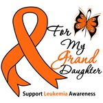 Leukemia Ribbon For My Granddaughter Shirts & Gift