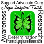 Lymphoma Hope Inspire Shirts and Gifts