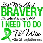 Stem Cell Transplant Bravery Shirts
