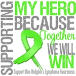 Supporting My Hero Non-Hodgkin's Lymphoma