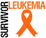 Orange Ribbon Survivor Leukemia Shirts