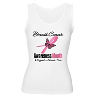 Breast Cancer Month Pink Buttefly Ribbon Shirts