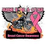 Ride For A Cure Breast Cancer Clothing and Gifts