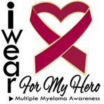 I Wear Ribbon Hero Myeloma