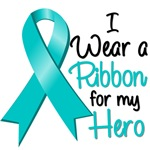 Ribbon Hero Ovarian Cancer