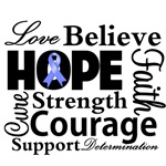 Esophageal Cancer Hope Shirts and Gifts