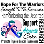 Hope Tribute Thyroid Cancer Shirts and Gifts
