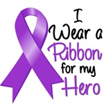 I Wear a Ribbon For My Hero - Lupus Gifts
