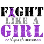 Lupus Fight Like a Girl Shirts