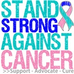 Stand Strong Thyroid Cancer Shirts and Gifts