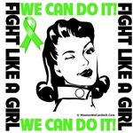 Fight Like a Girl We Can Do It Lymphoma Shirts