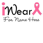Personalize Breast Cancer I Wear Pink Shirts