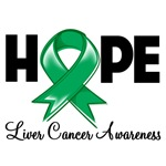 Hope Ribbon Liver Cancer Shirts and Gifts