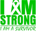 I am Strong Bile Duct Cancer Shirts