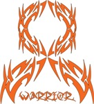 Leukemia Warrior Tribal Ribbon Shirts and Gifts