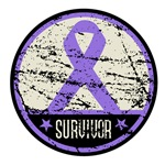 Hodgkins Lymphoma Survivor Distressed Shirts