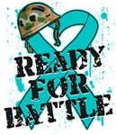 Ready For Battle Ovarian Cancer Shirts