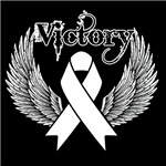 Victory Wings Bone Cancer Shirts