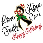Holiday Hope Skin Cancer Shirts and Gifts