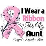 Aunt Pink Ribbon Breast Cancer Shirts
