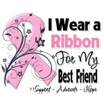 Best Friend Pink Ribbon Breast Cancer Shirts