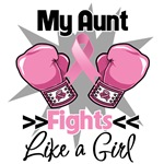 My Aunt Fights Like a Girl Breast Cancer Shirts