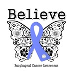 Believe - Esophageal Cancer Shirts and Gifts