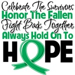 Liver Cancer Celebrate Honor Fight Hope Shirts
