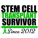 Stem Cell Transplant Survivor Since 2012 Shirts