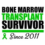 Bone Marrow Transplant Survivor Since 2011 Shirts