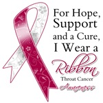 Throat Cancer For Hope Support and Cure Shirts