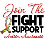 Join The Fight Support Autism Awareness Shirts