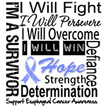 Esophageal Cancer Persevere Shirts  