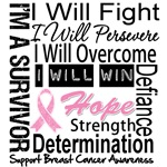 Breast Cancer Persevere Shirts