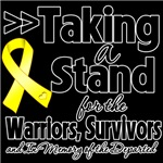 Taking a Stand Testicular Cancer Shirts