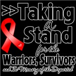 Taking a Stand Blood Cancer Shirts