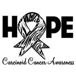 Hope Carcinoid Cancer Shirts and Gifts