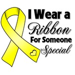 Ribbon Someone Special Testicular Cancer Shirts