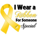 Ribbon Someone Special Childhood Cancer Shirts