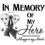 In Memory of My Hero Melanoma Shirts