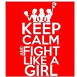 Blood Cancer Keep Calm and Fight Like a Girl