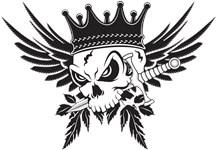 Skull King with Dagger