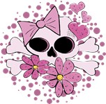 Girly Punk Skull
