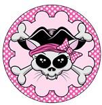 Pirate Princess Kitty Skull